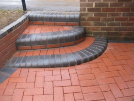 Clay Paving Steps