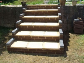 Slab and Brick Step